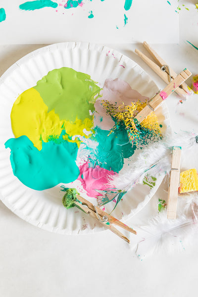 kids paint activity