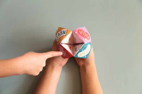 bravery cootie catcher