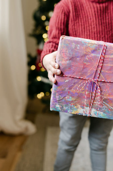 paint your own gift wrap