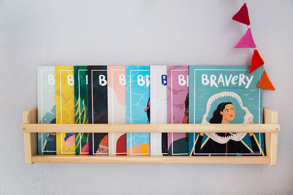 Bravery Subscription feature role models for kids