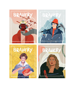 Bravery Bundle: Issues 5-8
