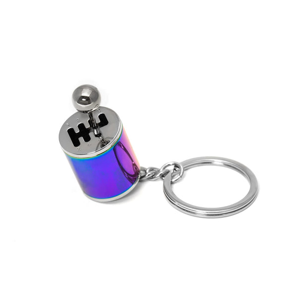 Stick Shift 6-Speed Keychain (Neo-Chrome)