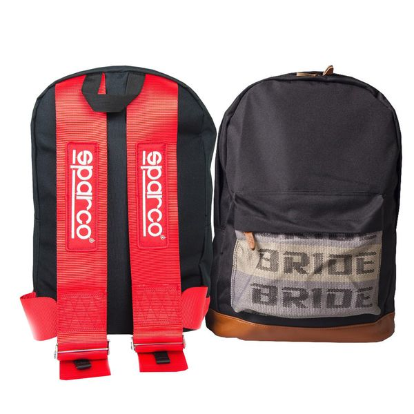Sparco/Bride Backpack (Red)