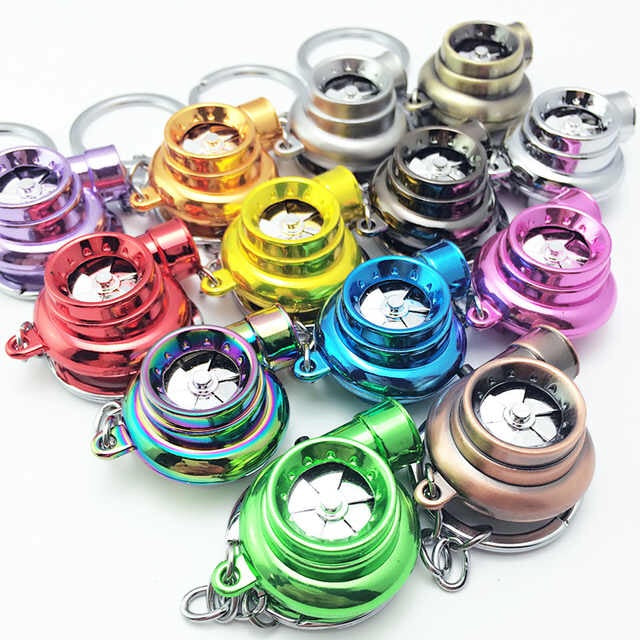 LED Turbo Keychain (New Colors!)