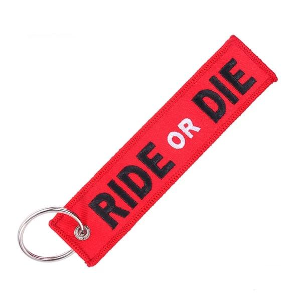 Ride or Die Keytag