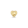 9k solid yellow gold tiny star flat back earring - LAURA BOND jewellery