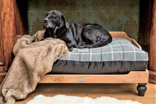 Load image into Gallery viewer, Berkeley Raised Wooden Dog Bed