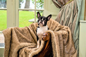 Luxury Faux Fur Blanket by Berkeley