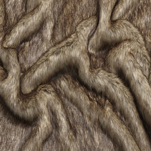 Load image into Gallery viewer, Berkeley Brown Faux Fur Dog Blanket