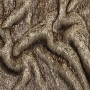 Berkeley Brown Faux Fur Dog Blanket
