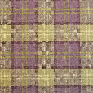 Luxury Dog Bed Tartan Fabric Covers in heather