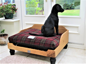 Wood Dog Bed by Berkeley