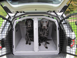 Berkeley Vet Bed Liner in a TransK9 Dog Transit Box