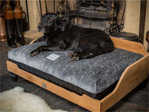 Luxury Wooden Dog Beds Handmade in the UK by Berkeley