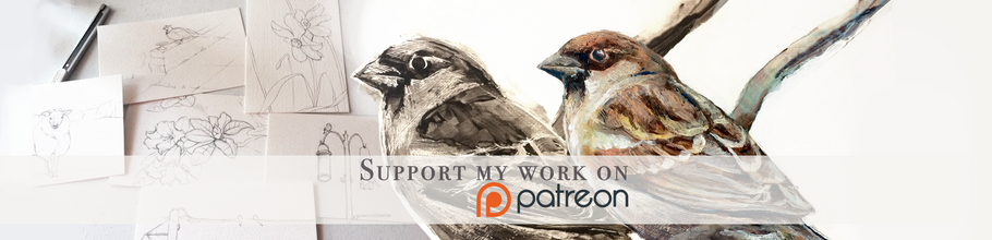 I'm now on Patreon!