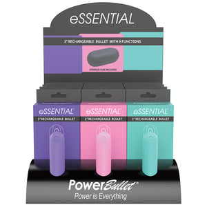 "Power Bullet Essentials 3.5"" Display 12pc"
