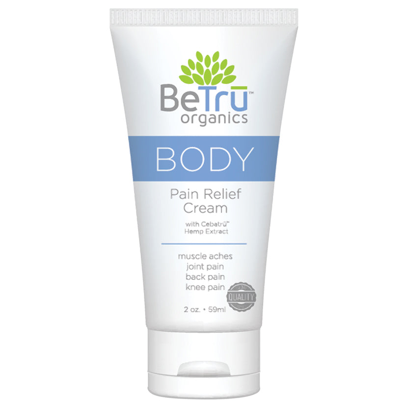 Be Tru Organics Body Pain Relief Cream 2oz