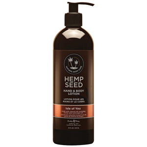 Earthly Body Hemp Seed Lotion-Isle of You 16oz