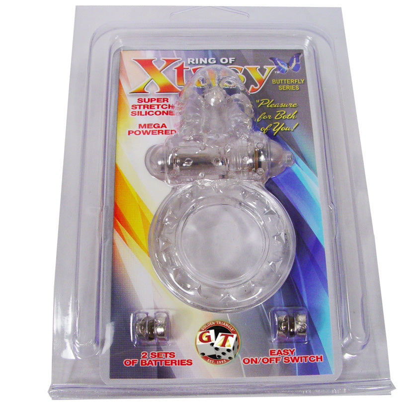 Ring of Xtasy - Clear Butterfly