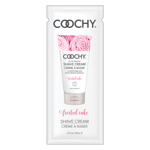 Coochy Shave Cream-Frosted Cake 15ml Foil
