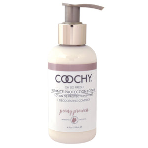 Coochy Intimate Protection Lotion-Peony Prowess 4oz