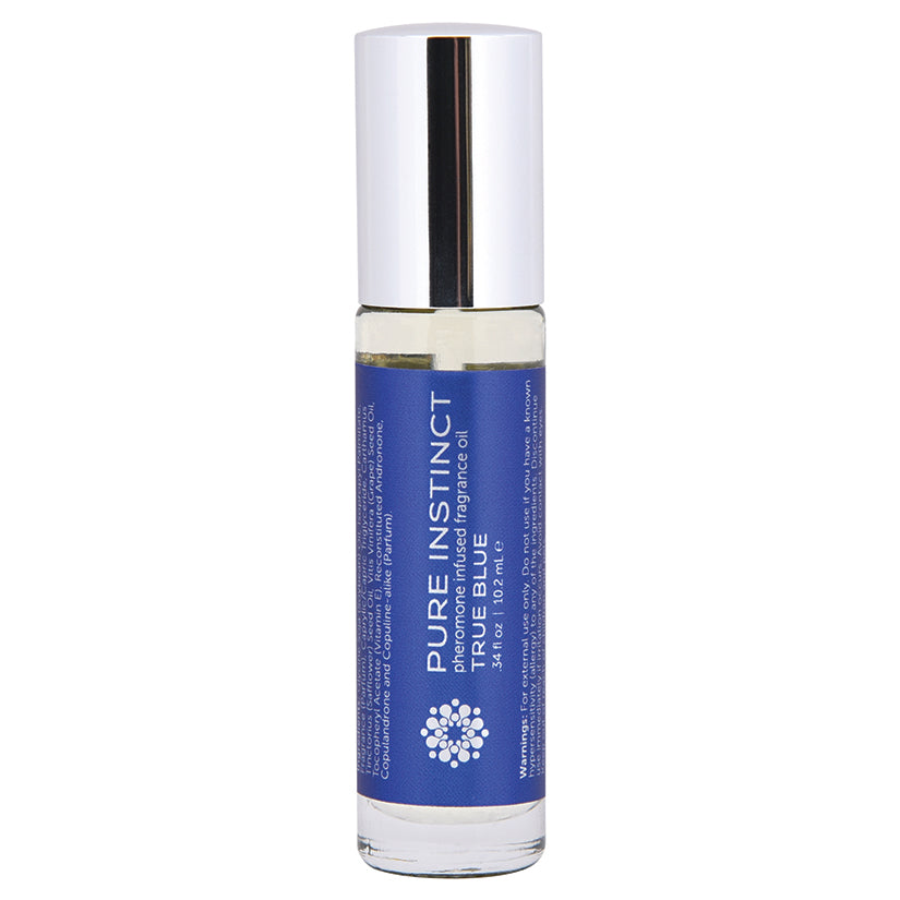Pure Instinct Pheromone Fragrance Oil True Blue - Roll on 10.2 ml | 0.34 Fl. Oz