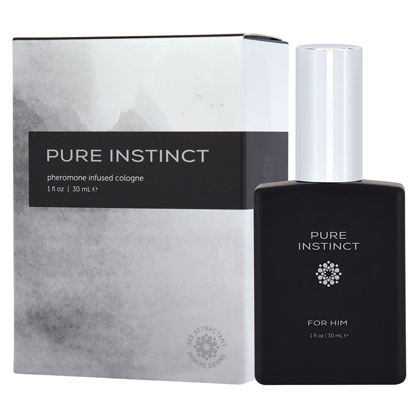 Pure Instinct Pheromone Cologne for Him -  30 ml | 1 Fl Oz