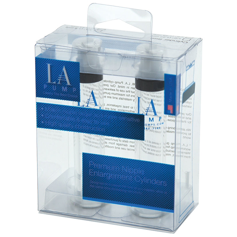 L.A. Pump Nipple Cylinders Retail Box 1.0