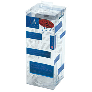 "L.A. Pump Oval Cylinder 2.25 x 9"" Retail Box"