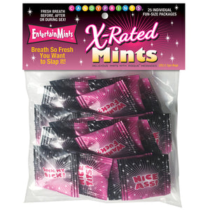 X-Rated Mints - 25 Individual Fun Size Packages