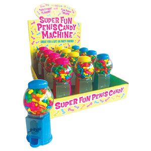 Super Fun Candy Machines 12 Pc Display