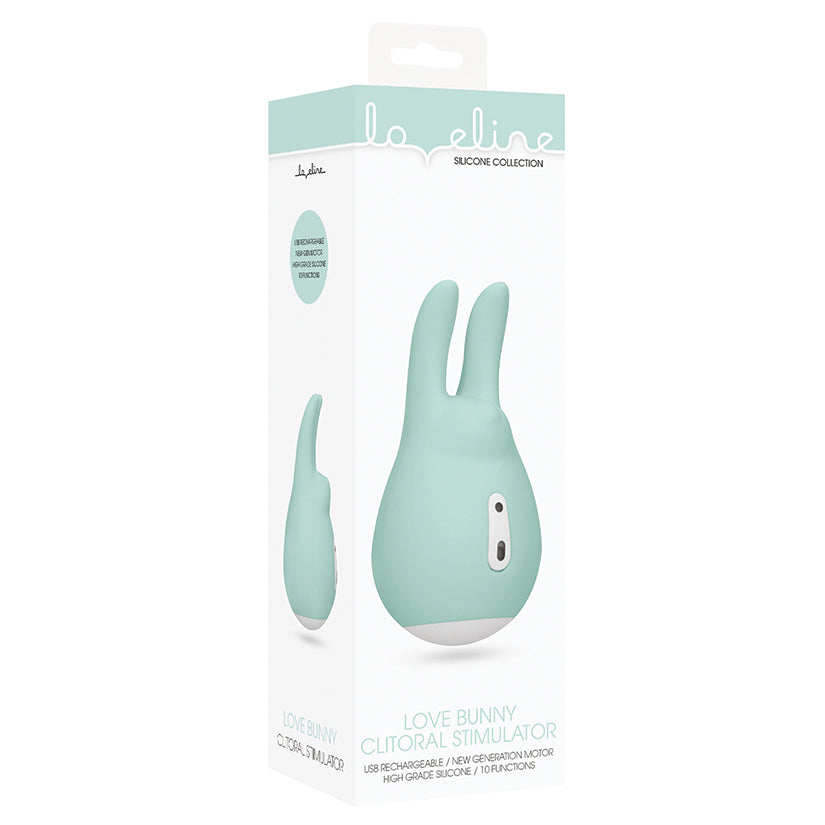 Loveline Love Bunny Clitoral Stimulator-Green