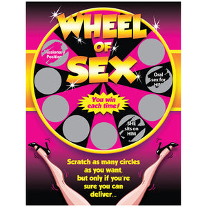Wheel Of Sex Scratch Off