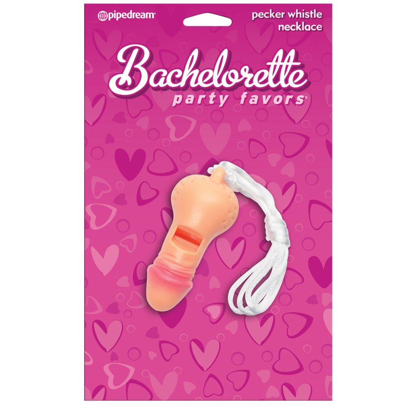 Bachelorette Party Favors Pecker Whistle Necklace