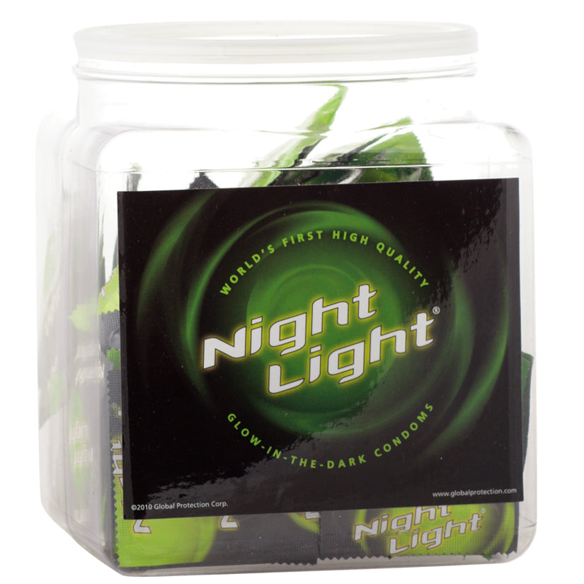 Night Light Condoms Bowl of 72