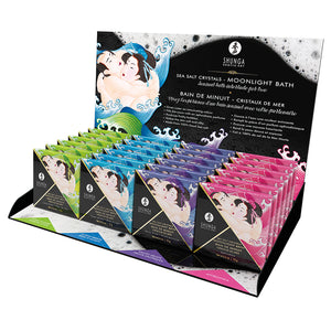 Shunga Crystal Bath Salts Display of 24 Assorted