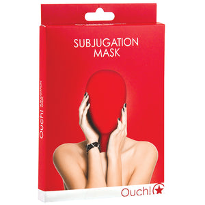 Ouch! Subjugation Mask-Red