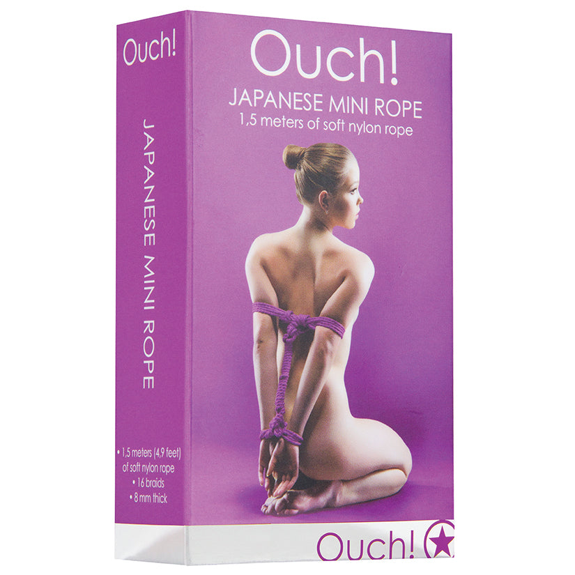 Ouch! Japanese Mini Rope-Purple