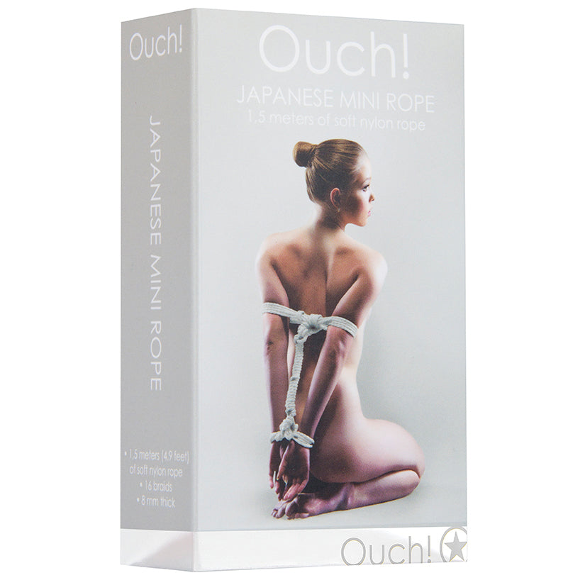 Ouch! Japanese Mini Rope-White