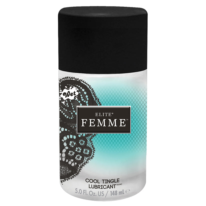 Wet Elite Femme Cool Tingle - 5 Fl. Oz./ 148ml