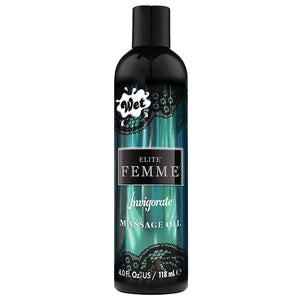 Elite Femme By Wet Massage Oil-Invigorate 4oz