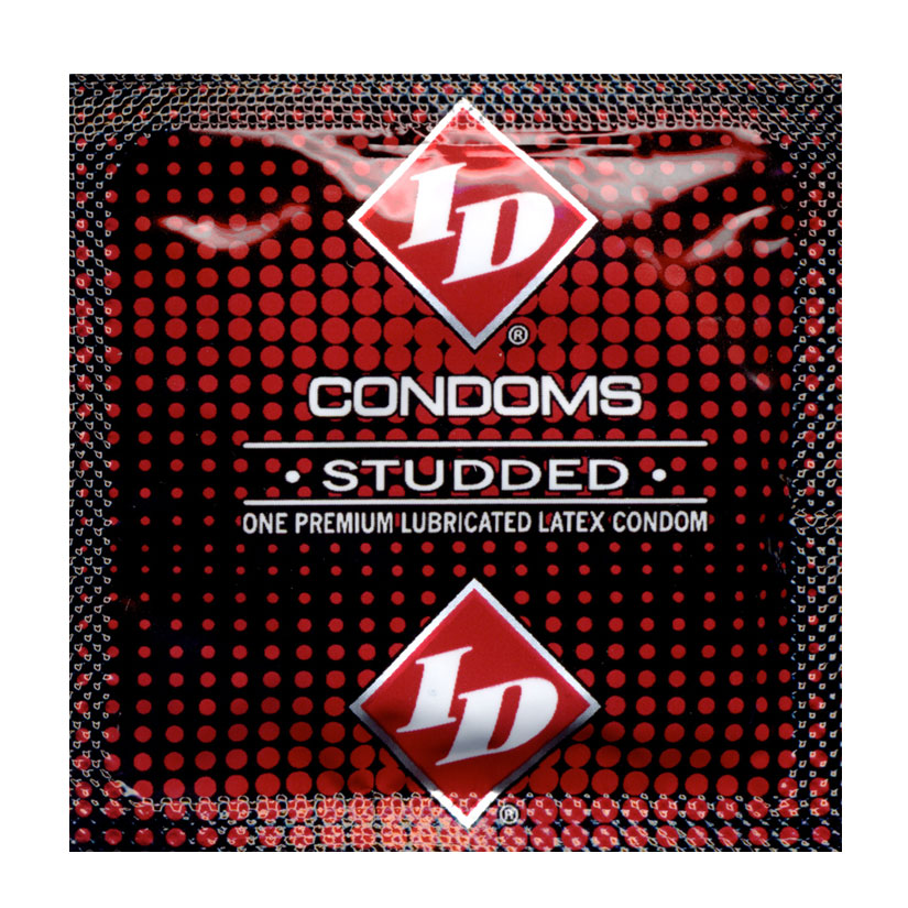 ID Studded Condoms (Bulk)