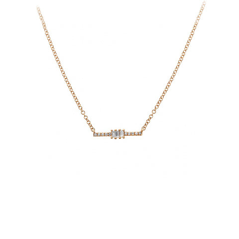 Barette necklace
