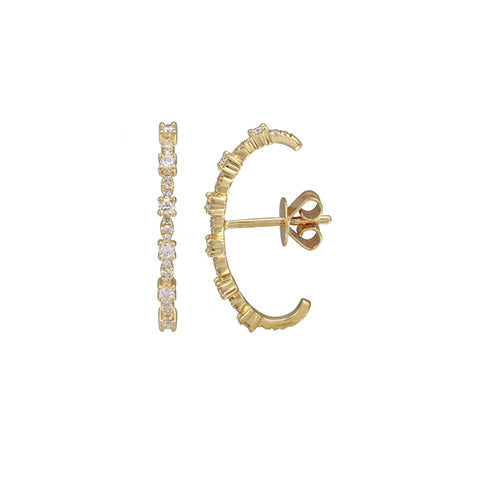 Dot single earring