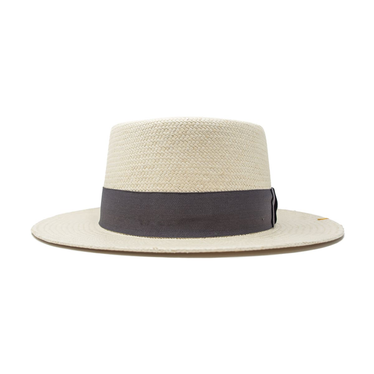 Quito Panama Boater Hat - Natural