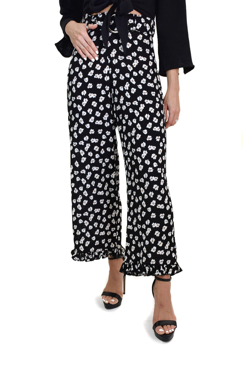 EASTNWESTTHELABEL<br>Merci Pant in Midnigh Garden - Trendy Fox Boutique