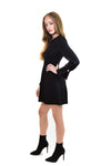 Bennet Mini Dress with Button Details <br> A.L.C - Trendy Fox Boutique
