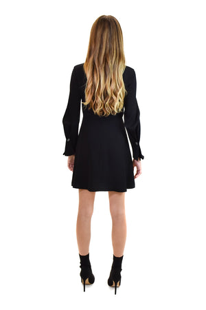 Bennet Mini Dress with Button Details <br> A.L.C
