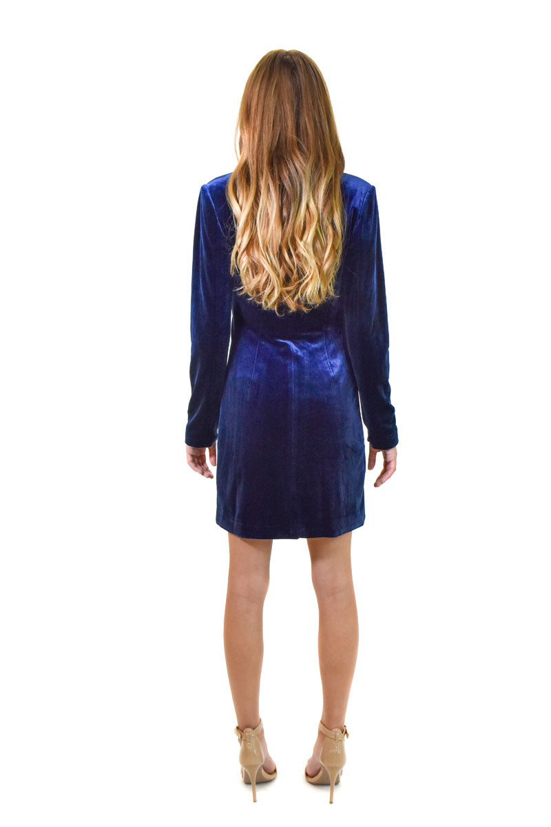 Suit Up Velvet Dress <br> Yumi Kim - Trendy Fox Boutique