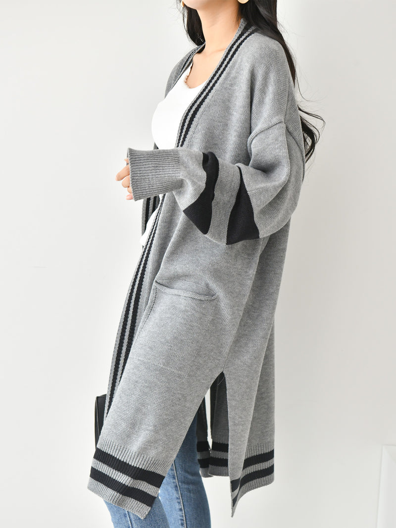 POCKET MIDI LENGTH CARDIGAN - Trendy Fox Boutique